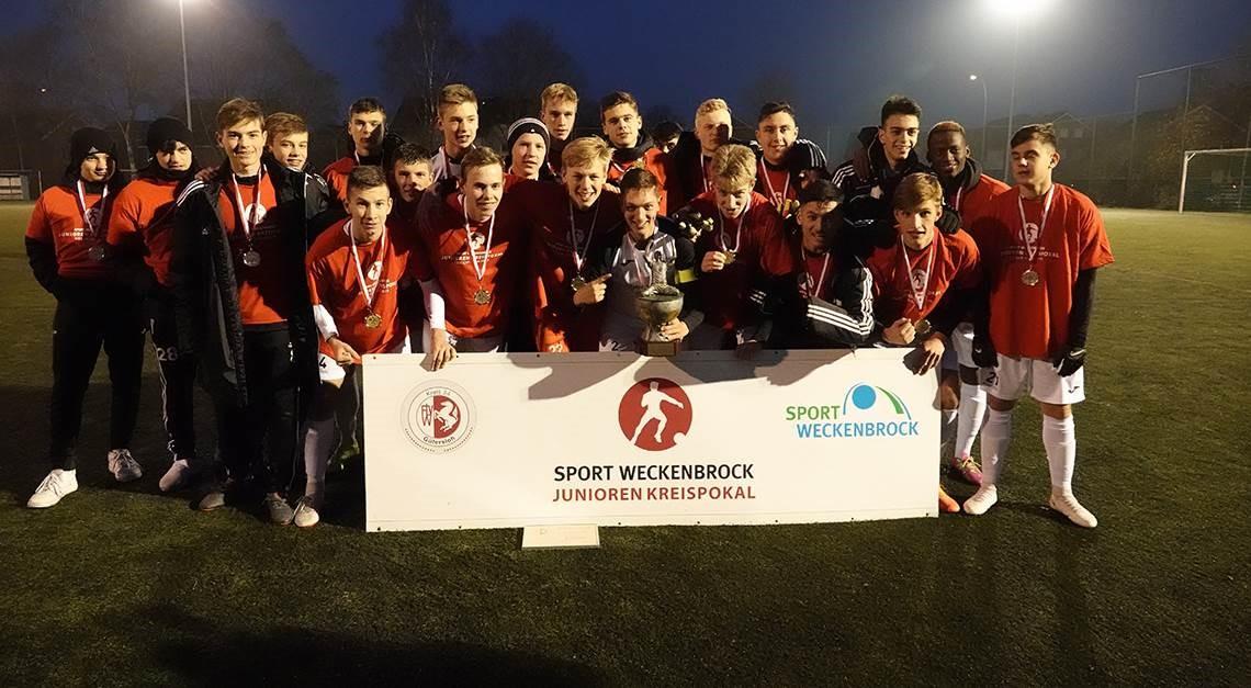 Kreispokalsieger: Unsere U17