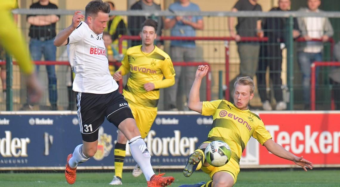 SPORTCLUB empfängt U23 von Borussia Dortmund