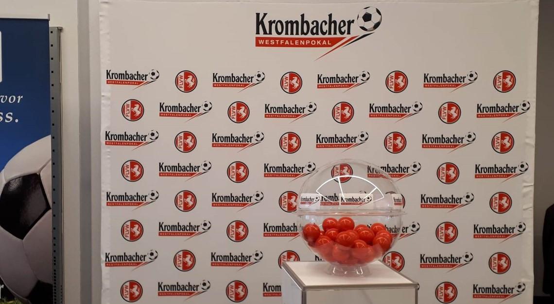Krombacher Westfalenpokal 2019/2020 – Runde 1
