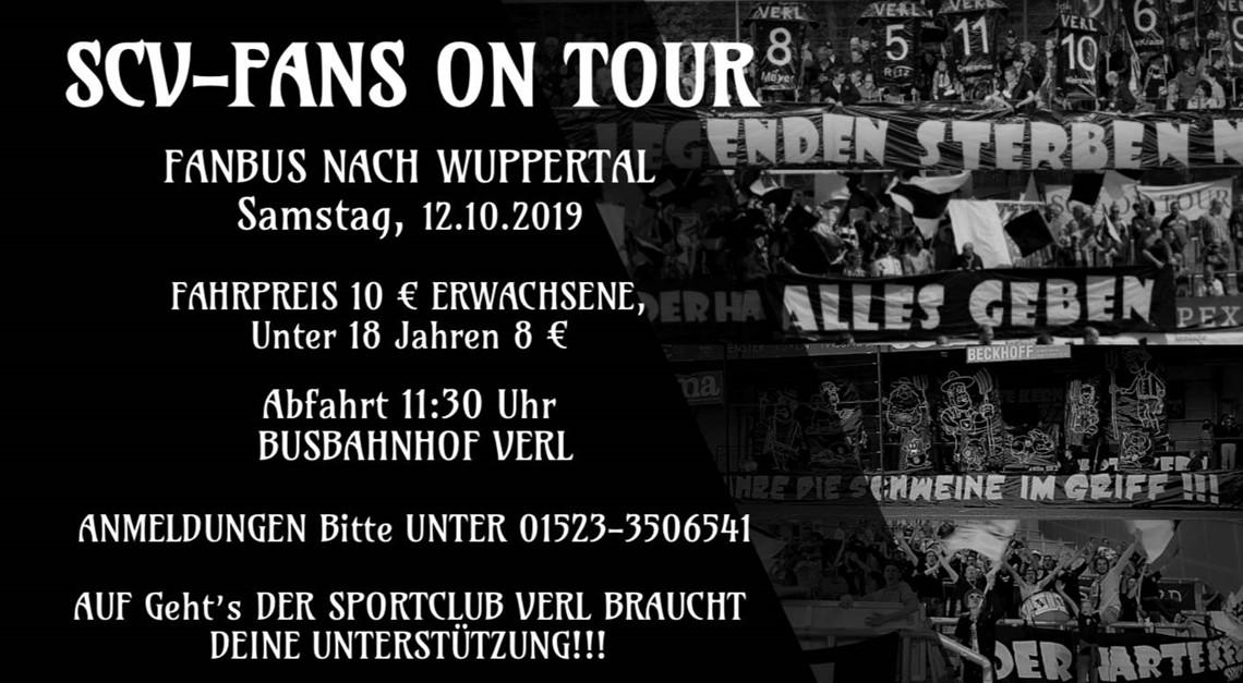 Fanbus nach Wuppertal