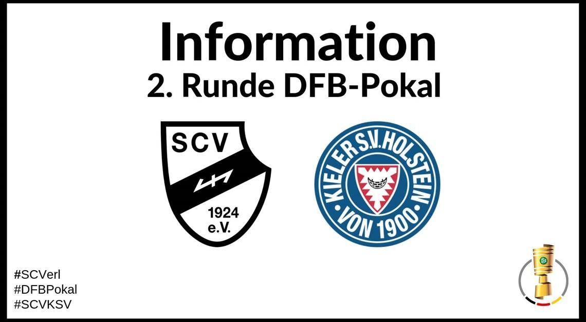 Tickethinweise für das Pokalspiel gegen Kiel!