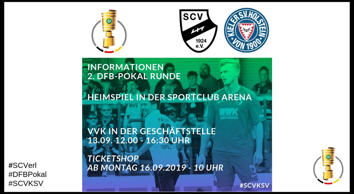 HEIMSPIEL im DFB-Pokal