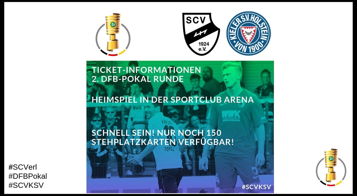 Update! Tickets 2. DFB-Pokal Runde