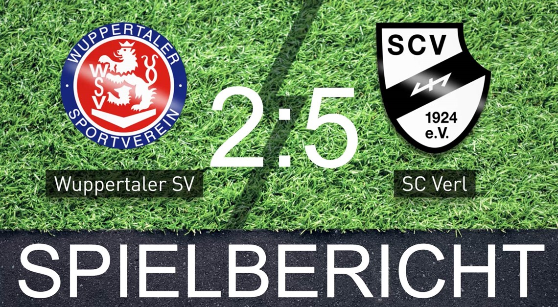 Sportclub feiert 2:5 Auswärtserfolg in Wuppertal!
