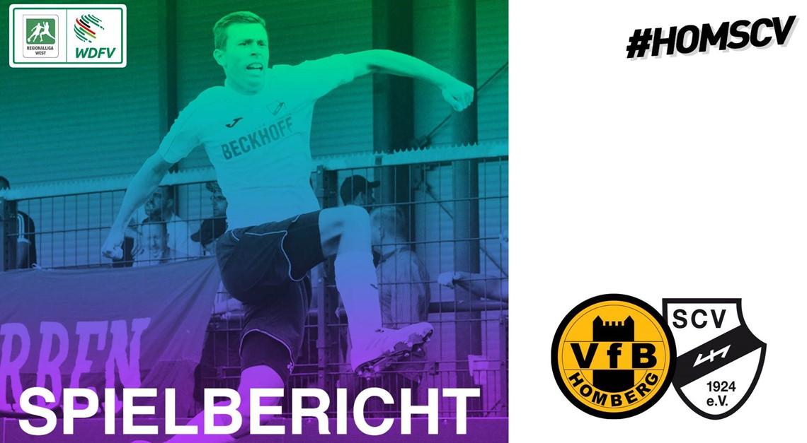Sportclub Serie reißt beim VfB Homberg