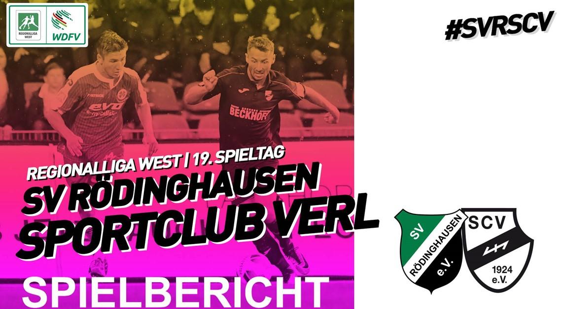 Sportclub Verl mit Punktgewinn im Topduell!