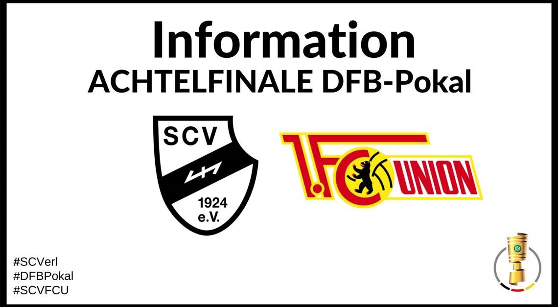 Update zum Achtelfinale im DFB Pokal