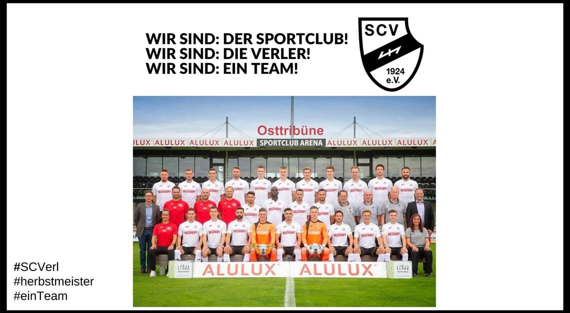Sportclub feiert HERBSTMEISTERSCHAFT