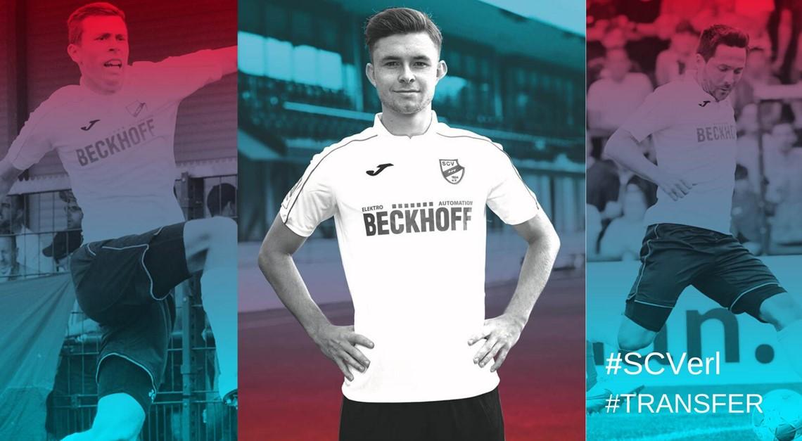 Sportclub Verl verleiht Fabian Brosowski
