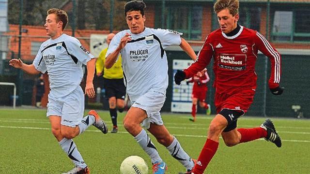 U19 im Westfalenpokal-Achtelfinale