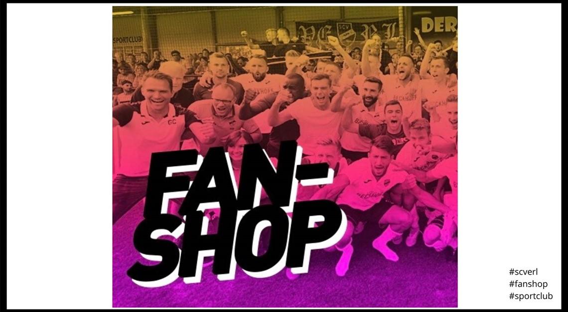 Der Sportclub-Fanshop ist ONLINE