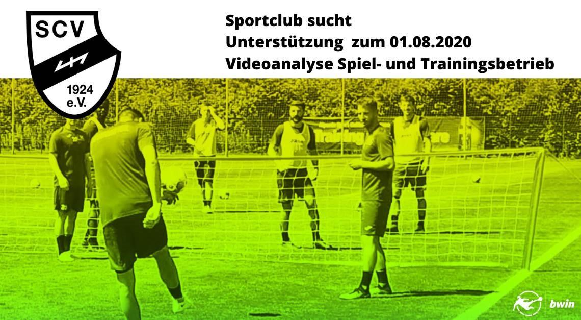 Sportclub sucht zum 1. August 2020 Unterstützung