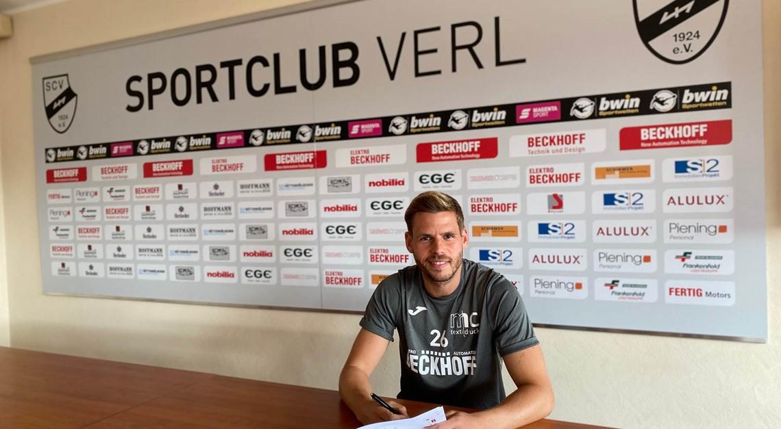 Sportclub Verl nimmt Justin Eilers unter Vertrag