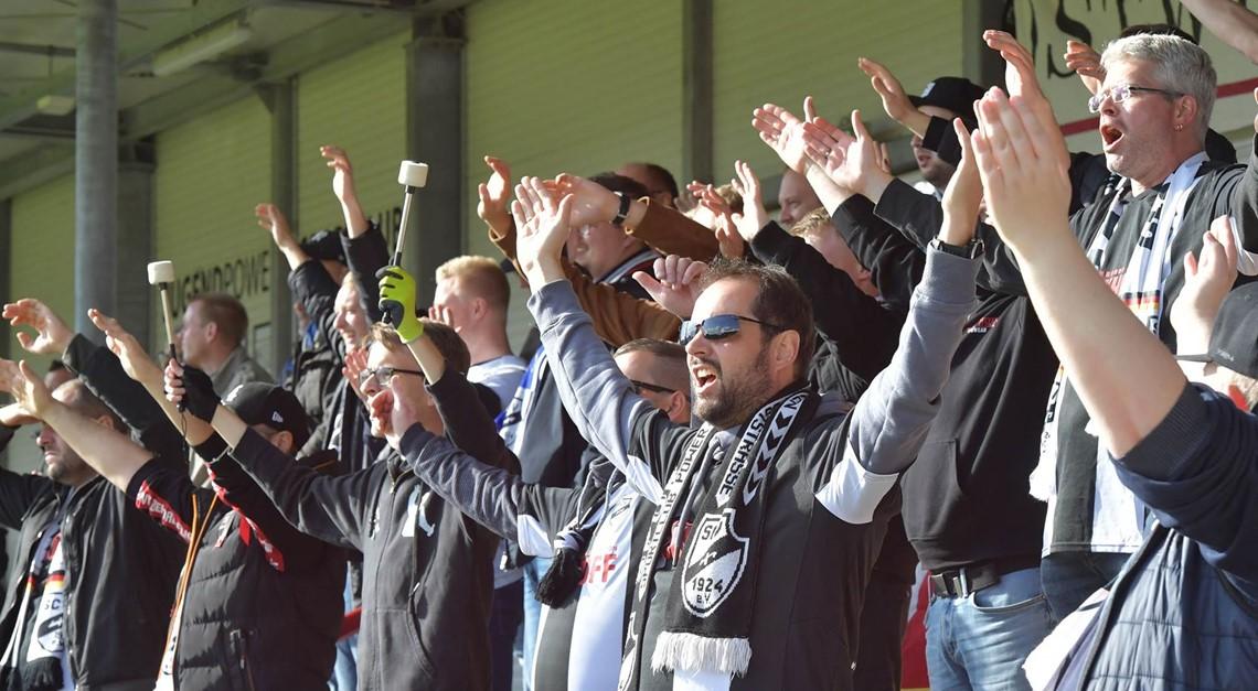 Keine Zuschauer beim Spiel in Paderborn