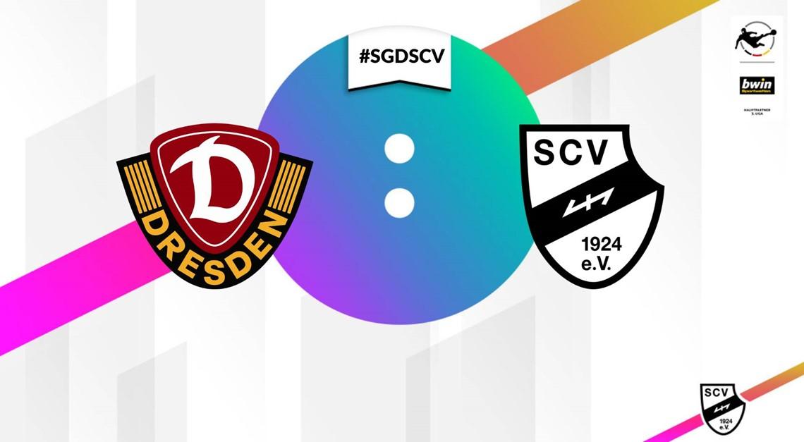 Sportclub Verl verliert mit 4:1 in Dresden.