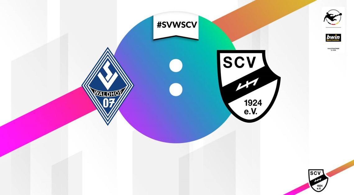 Sportclub Verl mit 2:2 Remis bei Waldhof Mannheim