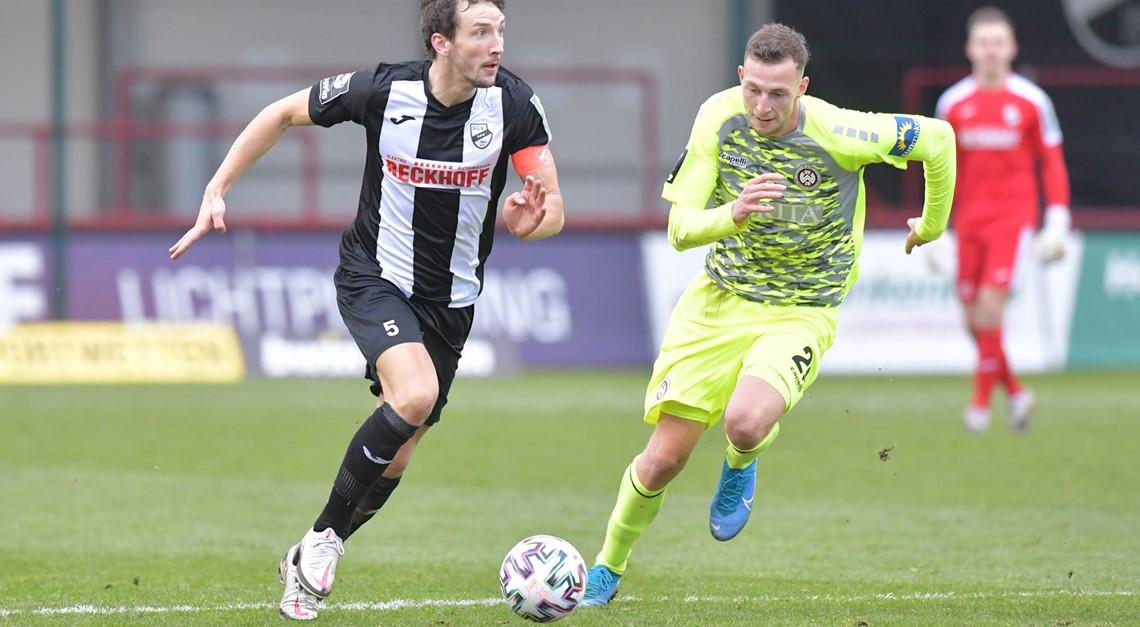 Sportclub Verl mit 2:2 Remis im Heimspiel