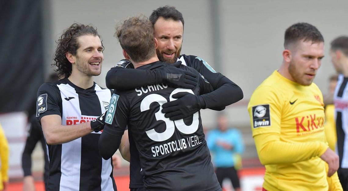 Sportclub Verl gewinnt mit 3:1!
