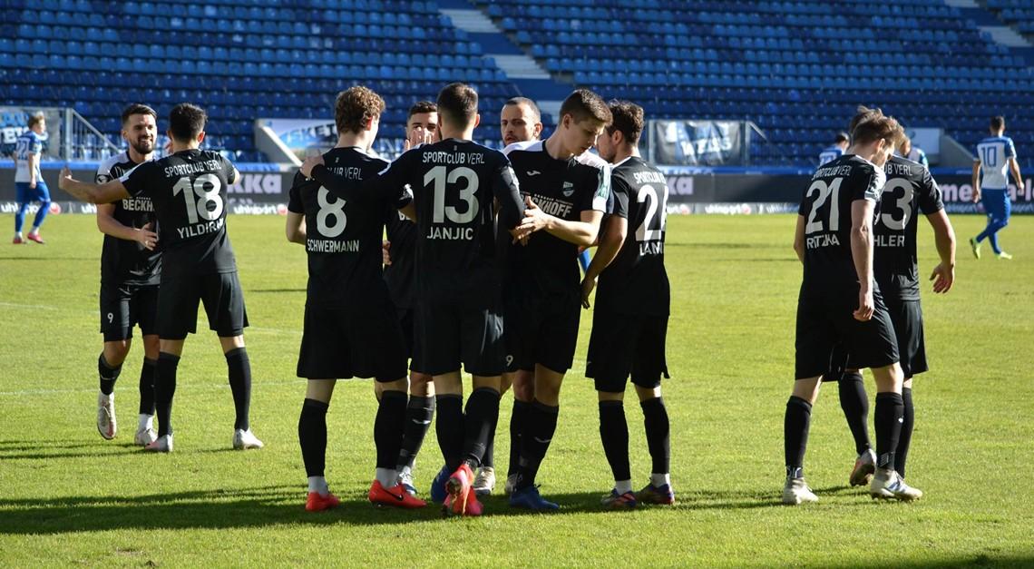 Sportclub Verl feiert 0:4 Auswärtserfolg!