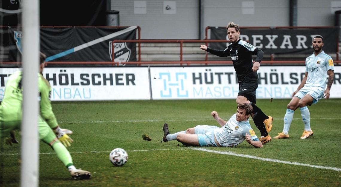 Sportclub Verl verliert gegen den 1.FC Saarbrücken
