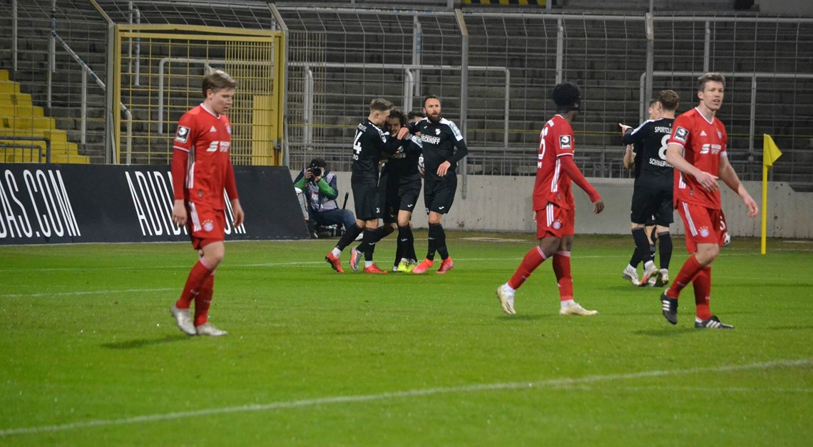 Sportclub Verl mit Last-Minute Erfolg!