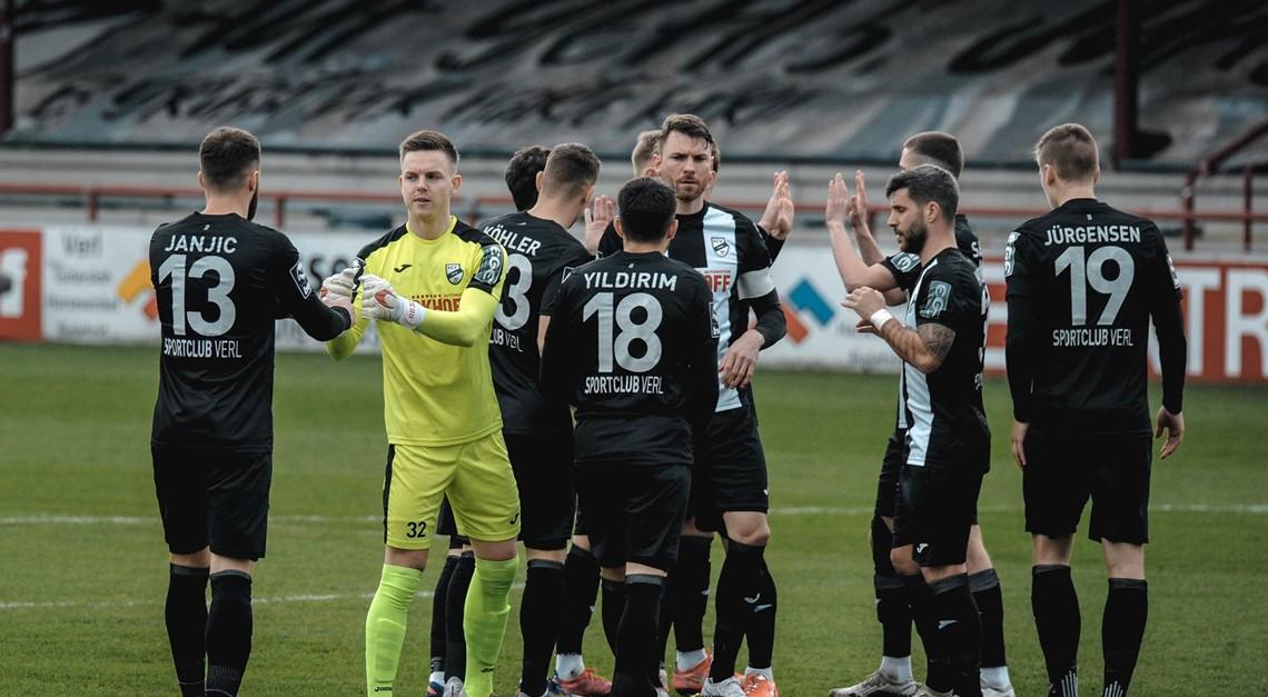 Sportclub Verl gewinnt mit 2:1