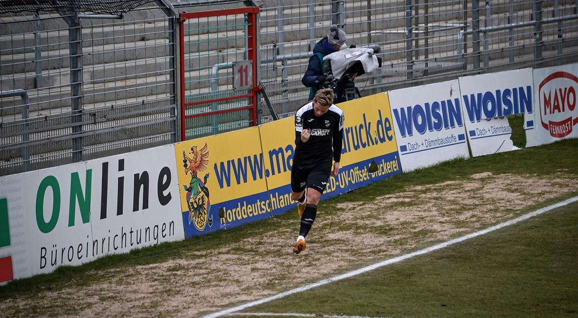 Gastspiel beim VfB Lübeck endet 2:2 Remis.