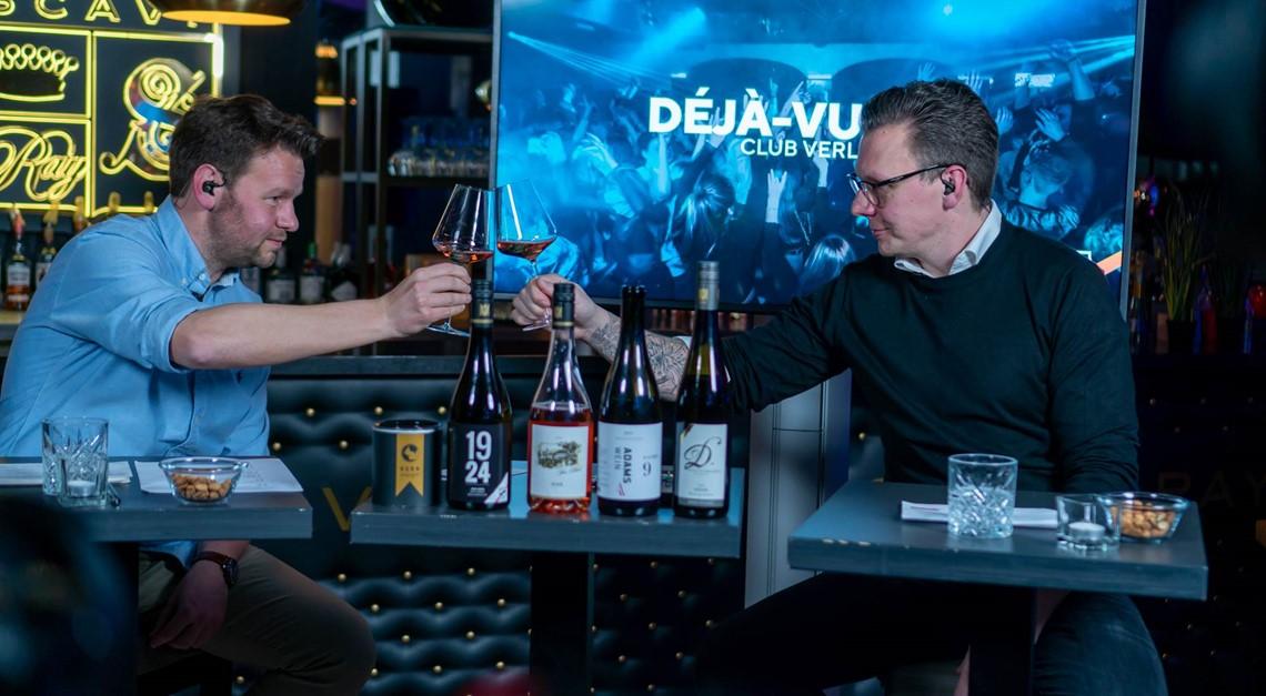 """""""Wine Time"""" beim Sportclub mit Peter Neururer"""