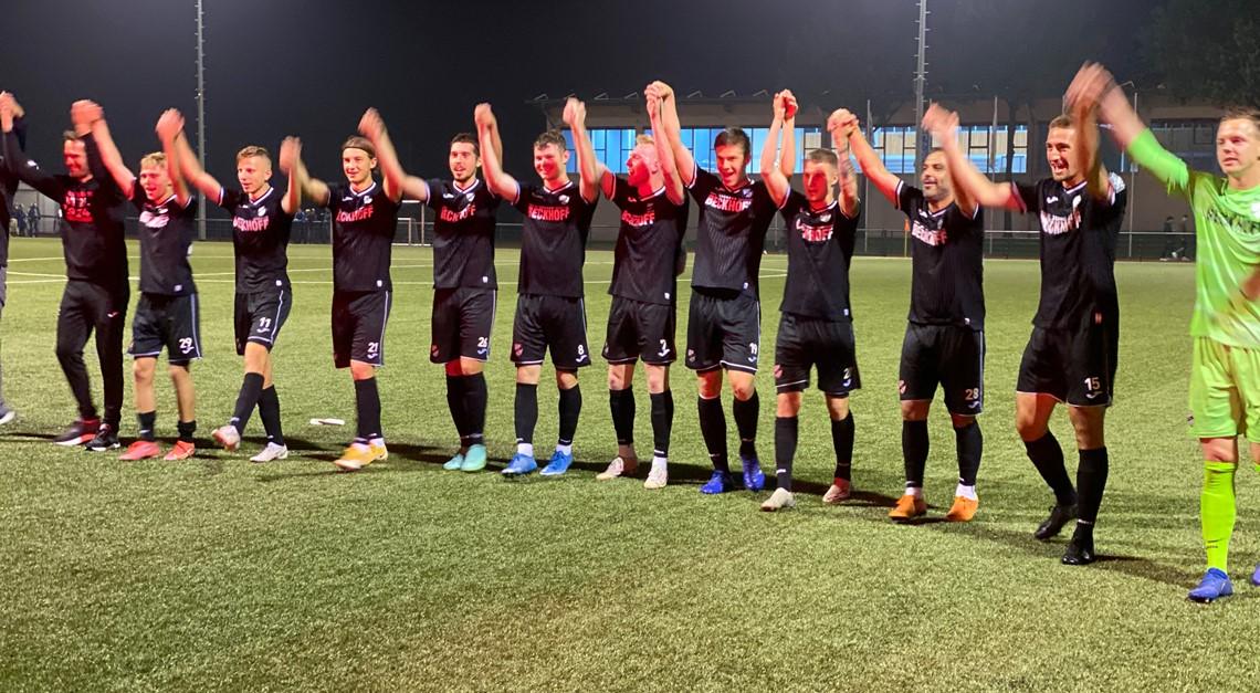 Sportclub eine Runde weiter im Westfalenpokal