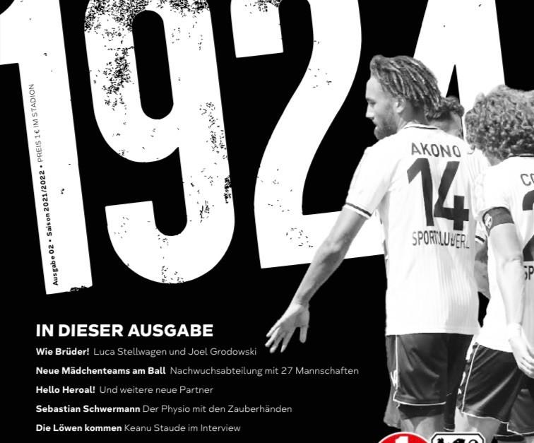 """Neue Ausgabe """"1924"""" ist erhältlich"""