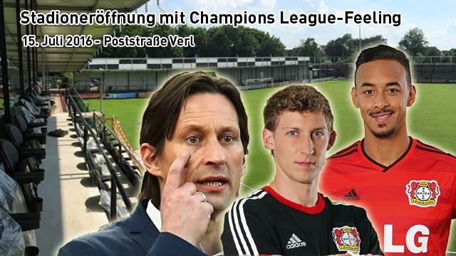 Bayer Leverkusen zu Gast in Verl | VVK gestartet