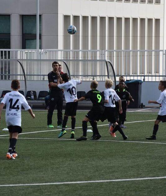 Verler U13-Turnier in der Tönnies Arena