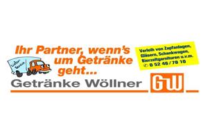 Sponsor - Getränke Wöllner