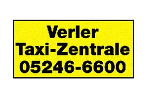 Sponsor - Verler Taxizentrale
