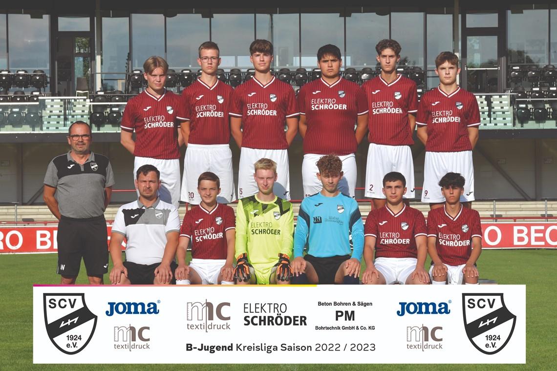 Mannschaftsfoto SC Verl 3
