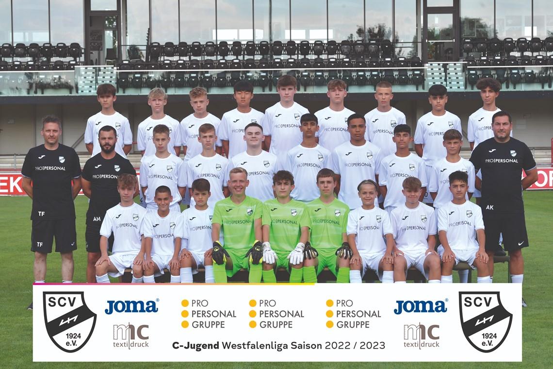 Mannschaftsfoto SC Verl