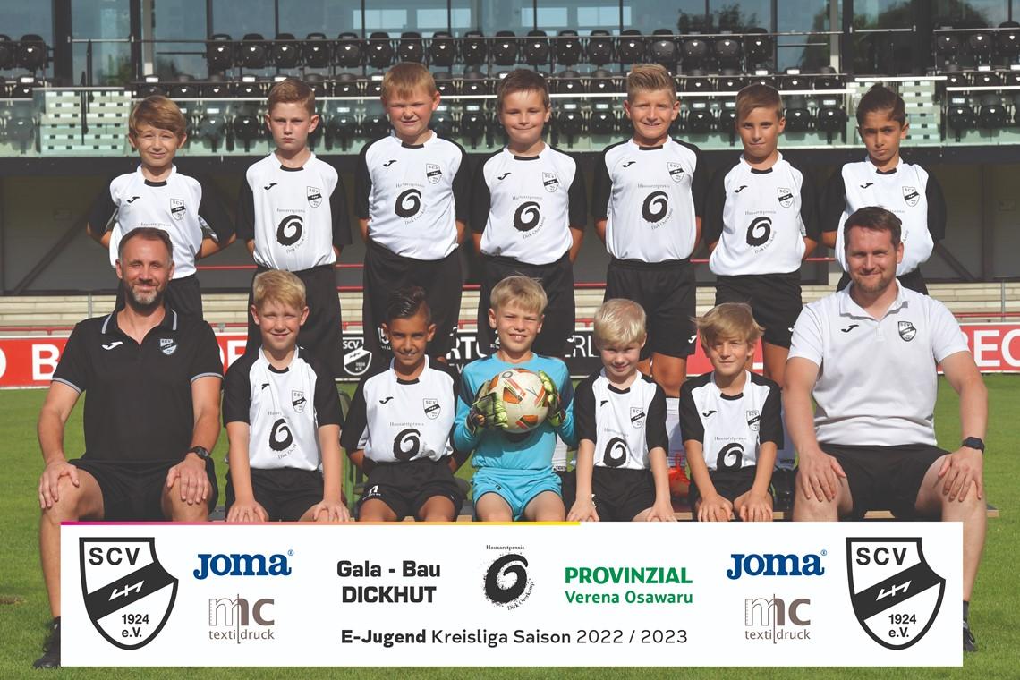 Mannschaftsfoto SC Verl 4