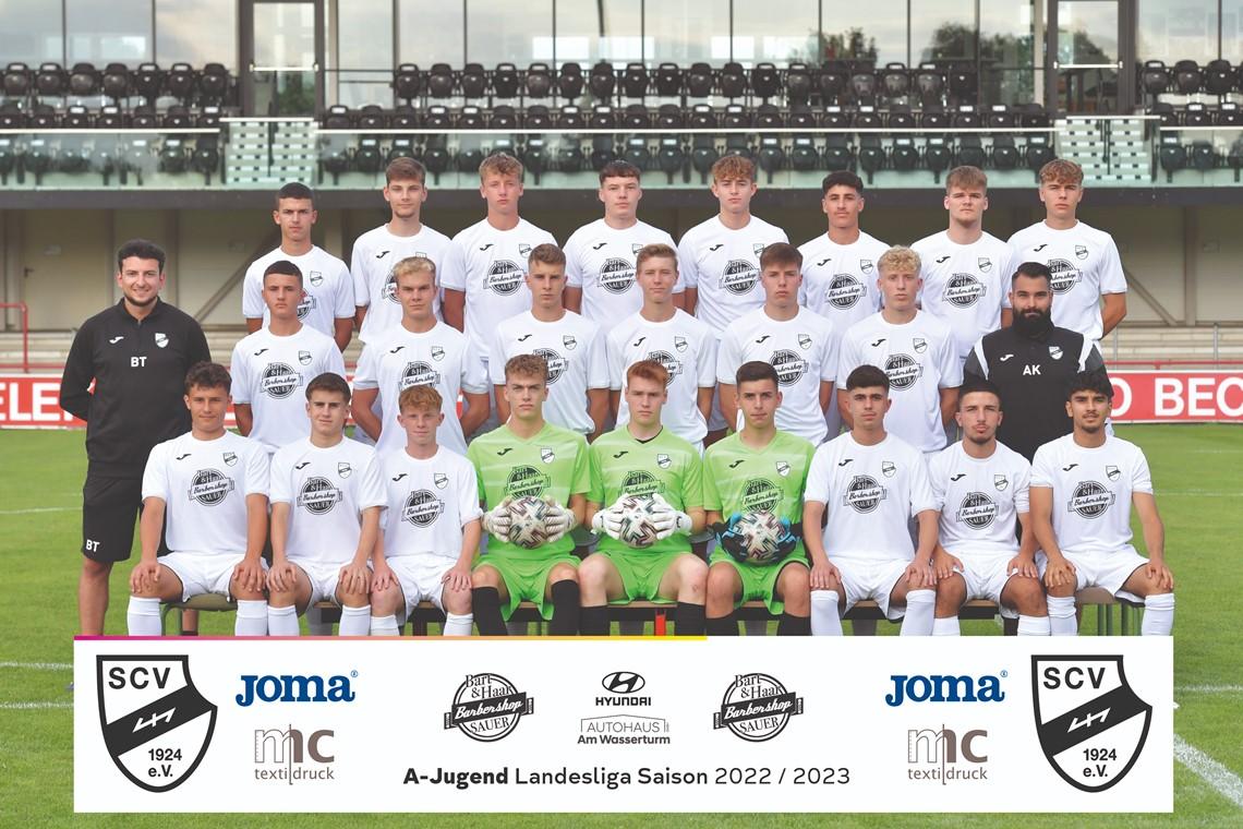 Mannschaftsfoto SC Verl 2