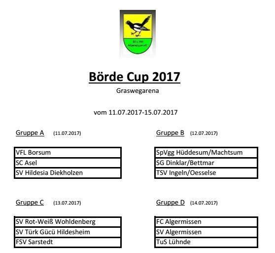 FCA beim Börde-Cup 2017!