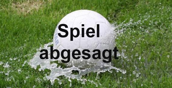 Spielausfall - Ostpreußenstadion nicht bespielbar!
