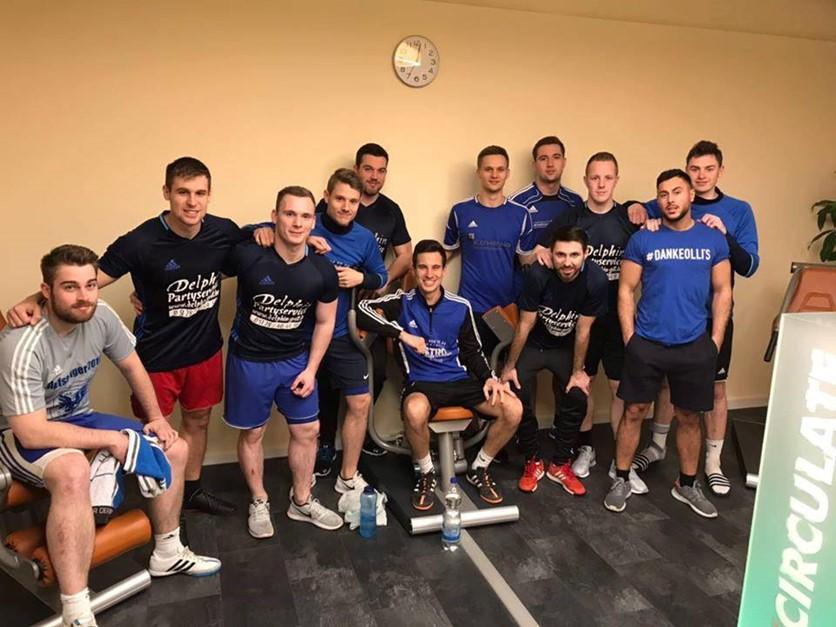FC Algermissen trainiert im Mi Vida Fitness