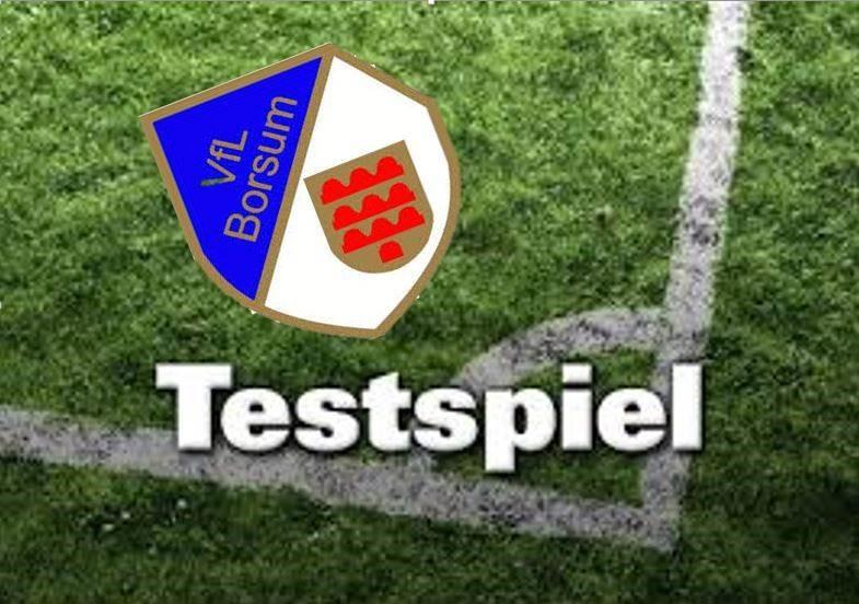 Erster Test gegen den VFL Borsum