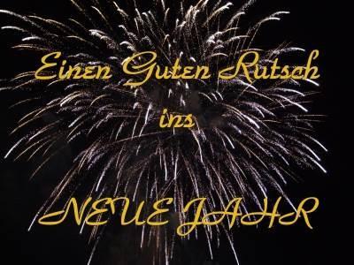 Guten Rutsch & Frohes Neues Jahr!