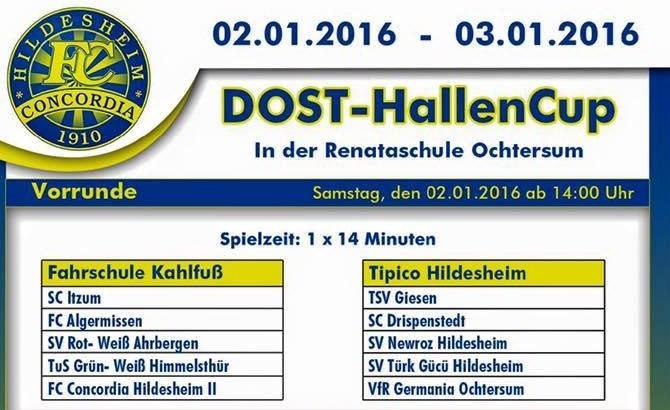 Vorbericht DOST-Cup 2016