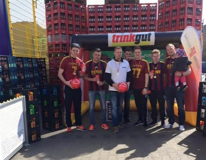 FC Algermissen nimmt an Trinkgut-Torwand-Tour teil