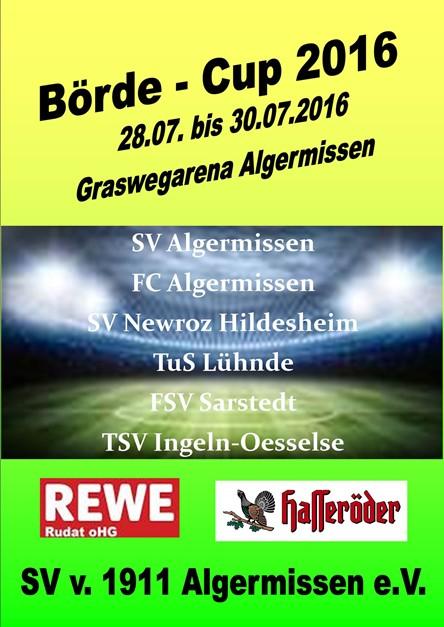 FCA beim Börde-Cup 2016