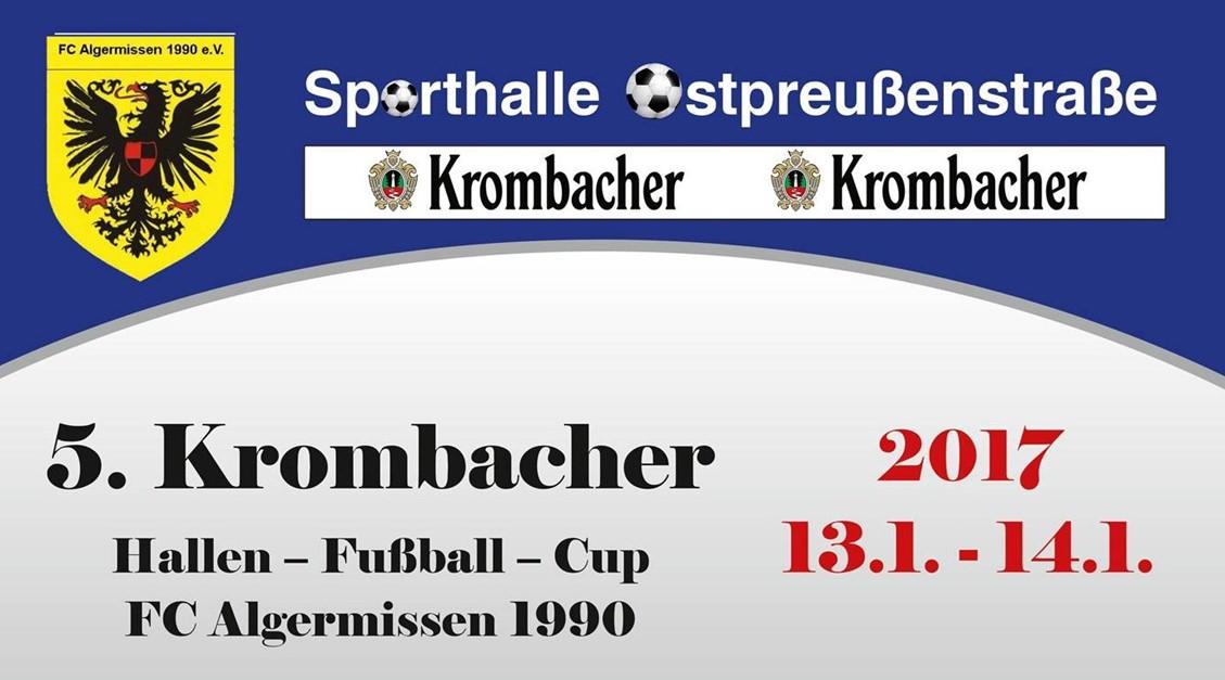 Krombacher-Hallencup 2017