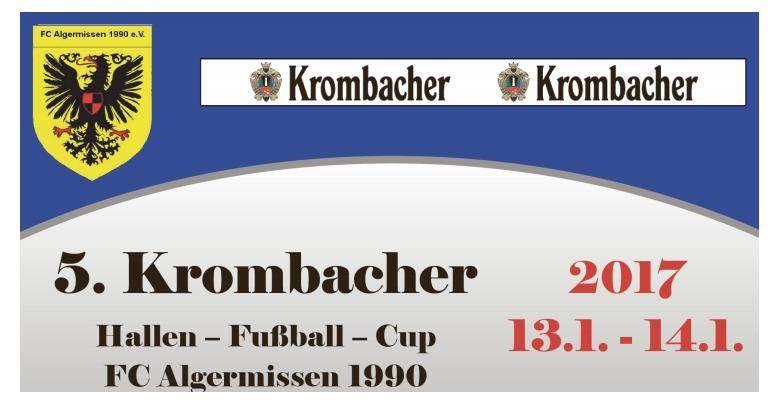Gewinnspiel-Verlosung Krombacher Cup