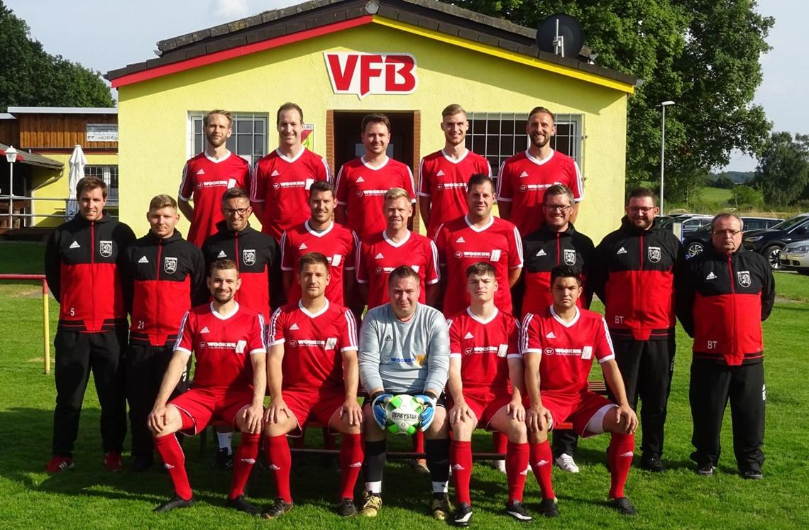 Mannschaftsfoto VfB Bodenburg
