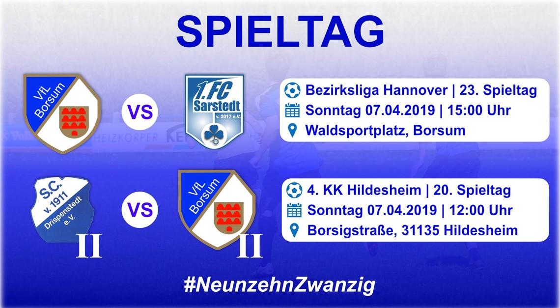 Heimspiel gegen den 1. FC Sarstedt